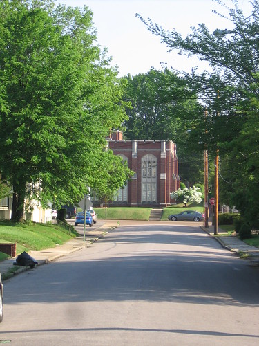 Cumberland Presbyterian Archives Building from Idlewild Historic District