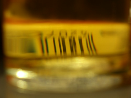 Bar Code Through Beer
