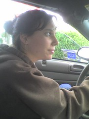 Jillian driving me home.