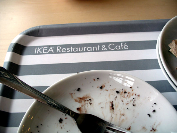breakfast and lunch at Ikea