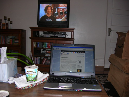 homework, top chef, ben & jerry
