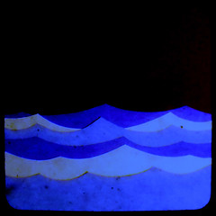 More paper waves (Area Bridges) Tags: ocean blue color collage paper square nikon waves kodak coolpix duaflex ttv bluewaves throughtheviewfinder paperwaves areabridges