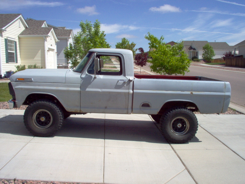 Joe93 S 68 Ford F100 4x4 Shortbed Ford Explorer And