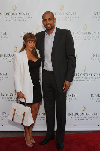 grant hill wife. Grant Hill amp; wife Tamia