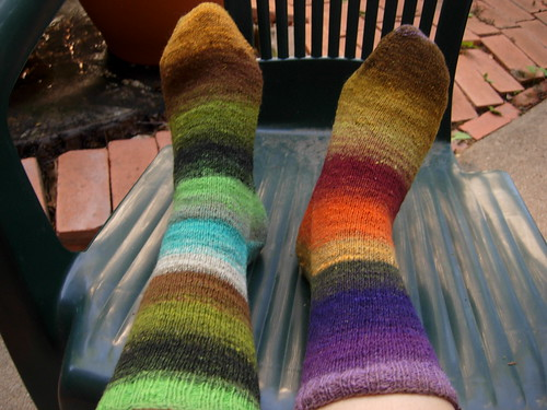 Gusset Heel Basic Sock