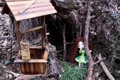 Graëndaelle Orangeblossom dans la forêt (Happy Sweets & Tarentules by Elsia) Tags: irish green forest dance rust dolls danse vert elfe well elf littleredridinghood pullip celtic custo forêt rousse puits celtique junplanning lrrh irlandaise