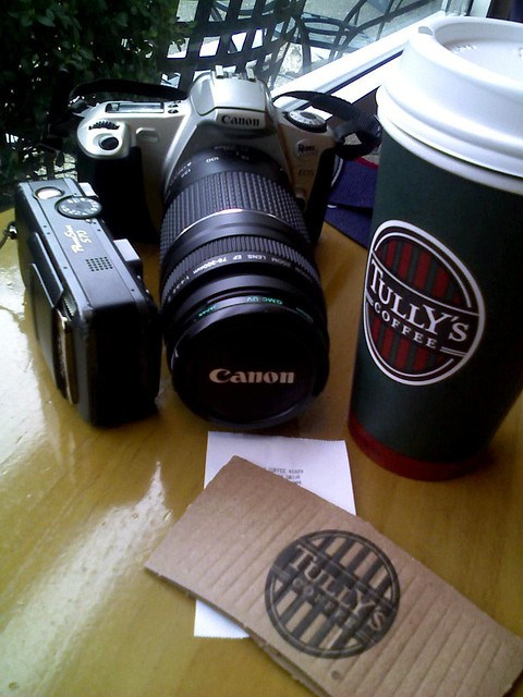 Black Americano and Kodak 200 film @Tullys_Shops near 520 #coffeetime
