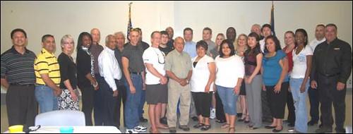 Landmark Graduation For Missouri City Police and Fire Academy
