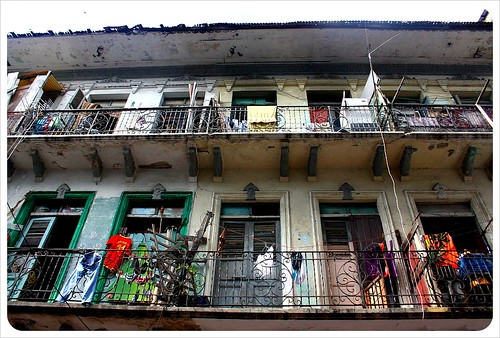 Casco Viejo old building balcony