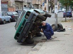 Cars in Bucarest-3 (Julie70) Tags: street trip people streets fall capital romania mostinteresting choice bucuresti 2007 roumanie bucarest mostfav rominia julie70 copyrightjkertesz juliekertesz sonydscw200 100mostinteresting 120of50000