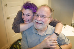 Amanda and her father Myron!