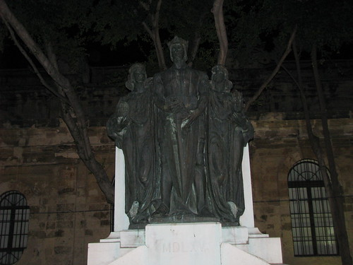 Sculpture of a Knight of St. John's
