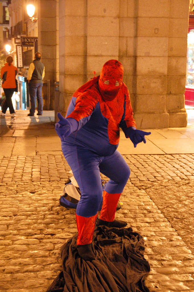... fat spiderman superhero streetphoto. Spider sense... tingling! (Mi sentido arácnido... ¡está & The Worldu0027s most recently posted photos of fat and spiderman ...