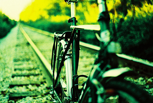 Bike on tracks II