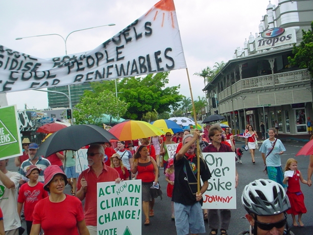Walk Against Warming Cairns 2007 / photo #7