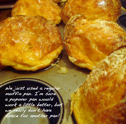 LIFEFLIX: Last Night's Dinner #62: Giant Cheese Popovers