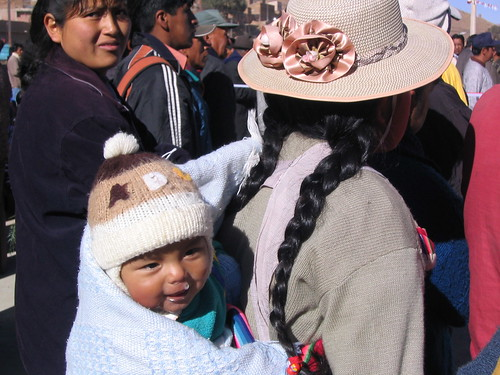 baby cute travelling southamerica festival fiesta bolivia adventure backpacking andes traveling snot roundtheworldtrip fiestadechutillos