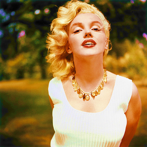 marilyn in the sun