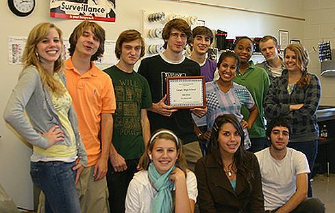 "Winners of ""Best High School"" in My Atlanta, ACP 9"