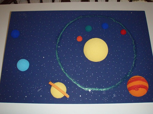 solar system projects for kindergarten - photo #6