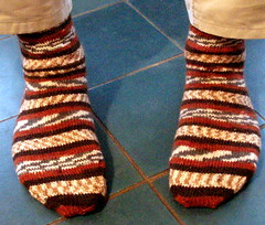 Really Big Regia 6-ply Socks