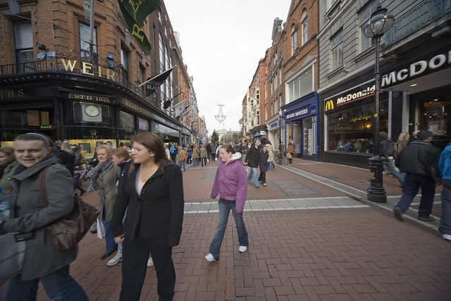 GRAFTON STREET - CHRISTMAS 2007