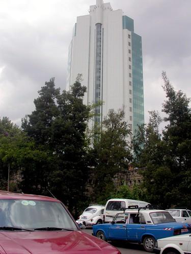 Nani Building, en Addis Abeba (Etiopía)