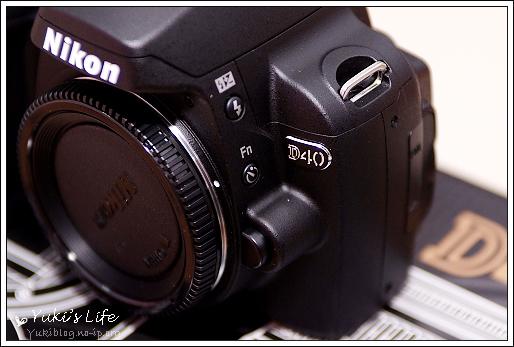 [禮物]*提前收到的生日禮物- Nikon D40 Kit