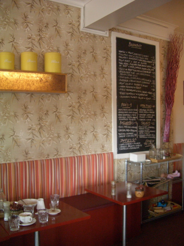 Butterfly Cafe interior
