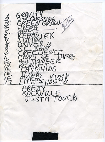 REM Set List