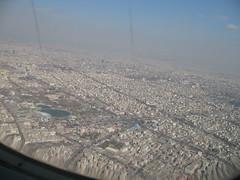 Landing in Tehran
