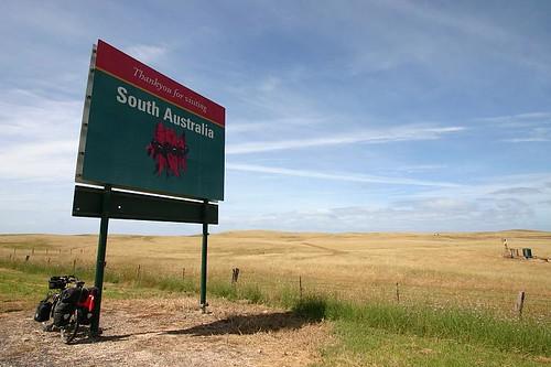 Exit South Australia, enter Victoria...
