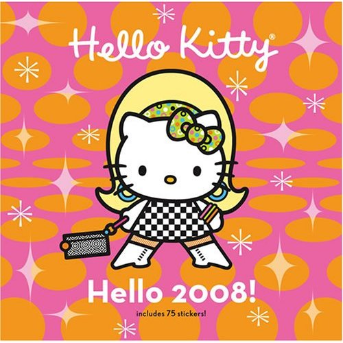 hello kitty 2008 calendar cover