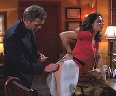 Dr House and hot Cuddy