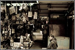 street vendor (johnngai) Tags: hongkong streetvendor proverty