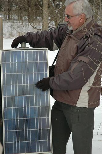 amorphous silicon solar panels. Amorphous silicon solar panel