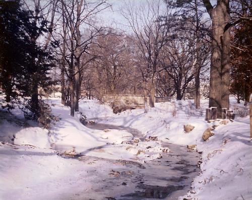 Winter Scene - Kansas State
