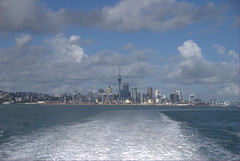 Auckland from ferry