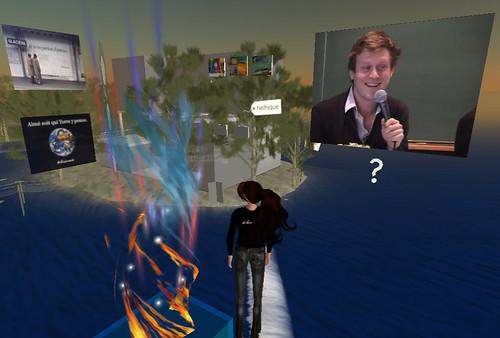 Néthique 3 sur l'Ile Verte/Second Life (éthique, FaceBook, réseaux sociaux et identité numérique) : Benoît Thieulin