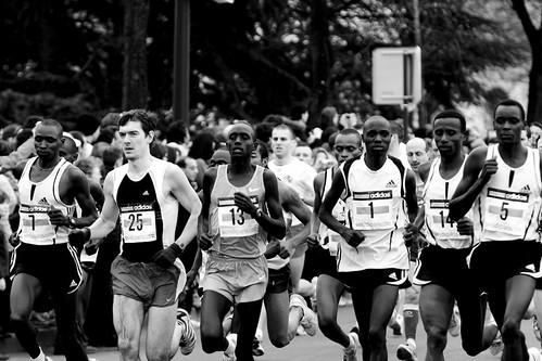Semi Marathon de Paris 2008 – Selection by Frédéric de Villamil.