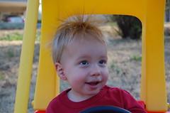 Jack hair static