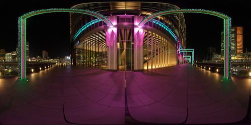 japan night geotagged tokyo 360 panoramic handheld akihabara hdr 360x180 hdri ptgui equirectangular d80 hapala enfuse geo:lat=356999575 geo:lon=1397728547