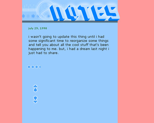 kottke.org, initial design, 1998