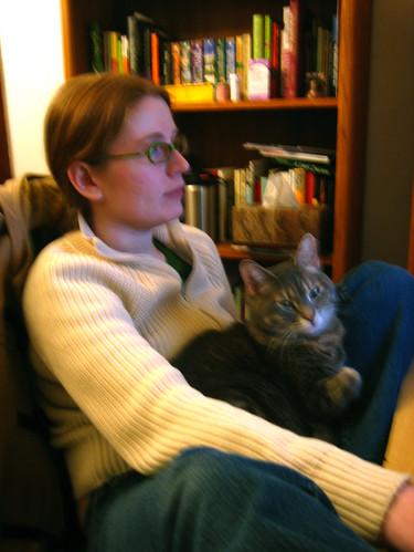 Eva in Apryl's Lap