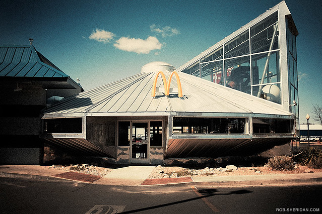 UFO McDonald's - Roswell, NM