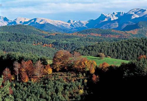 Vista del Valle del Roncal