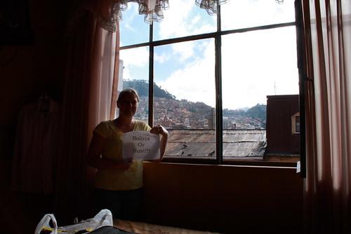 La Paz, Bolivia!!! Finally made it.