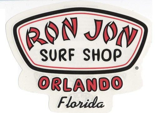 Surf Shop Logo Ron Jon Surf Shop Orlando