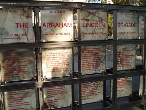 Abraham Lincoln Brigade Memorial