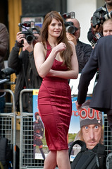Bond Girl Gemma Arterton at Three and Out Premiere by Simon Rigglesworth